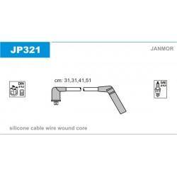 PRZEWODY ZAPLONOWE ACCENT 1.3,1.5 94- /SI/ JANMOR JP321