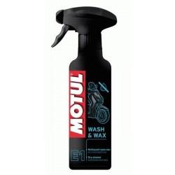 MOTUL E1 WASH & WAX 400ML