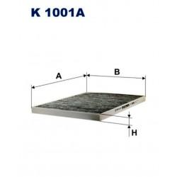 FILTR KABINOWY FILTRON K 1001A