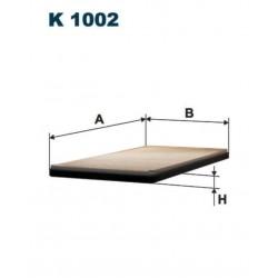 FILTR KABINOWY FILTRON K 1002