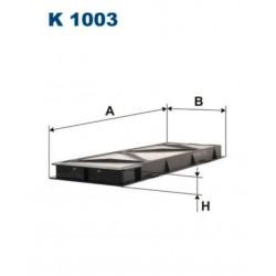 FILTR KABINOWY FILTRON K 1003