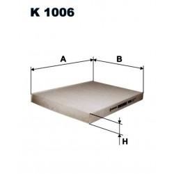 FILTR KABINOWY FILTRON K 1006