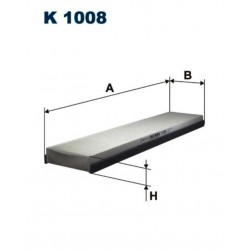 FILTR KABINOWY FILTRON K 1008