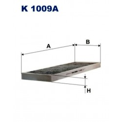 FILTR KABINOWY FILTRON K 1009A