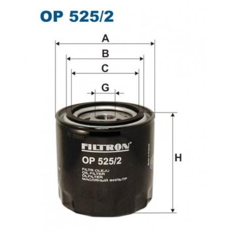 FILTR OLEJU FILTRON OP525/2