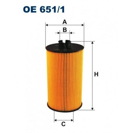 FILTR OLEJU FILTRON OE651/1