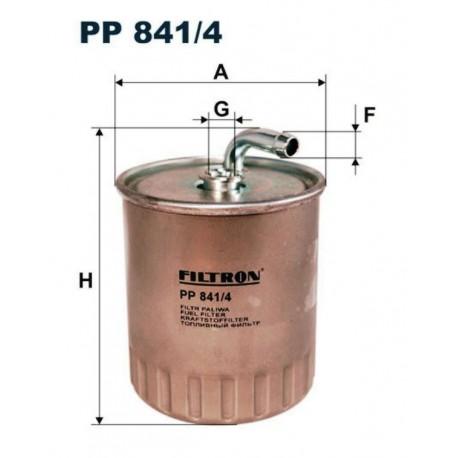 FILTR PALIWA FILTRON PP841/4
