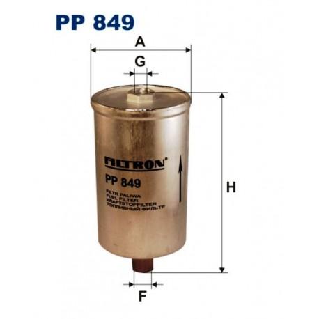 FILTR PALIWA FILTRON PP849