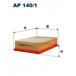 FILTR POWIETRZA FILTRON AP 140/1