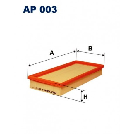 FILTR POWIETRZA FILTRON AP003