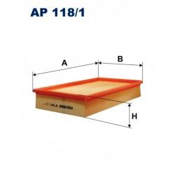FILTR POWIETRZA FILTRON AP118/1