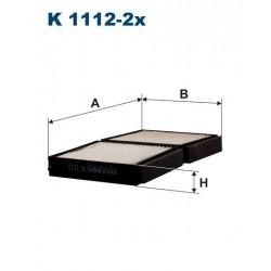 FILTR KABINY B43001 K112-2X