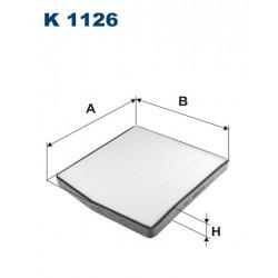 FILTR KABINY WT329005 ZAMIENNIK FILTRONA K 1126