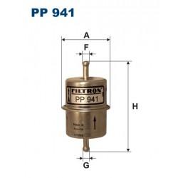 FILTR PALIWA VT89372 ZAMIENNIK FILTRONA PP 941