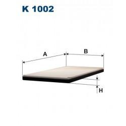 FILTR KABINY WT325005 ZAMIENNIK FILTRONA K 1002