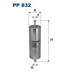 FILTR PALIWA WT-82028 ZAMIENNIK FILTRONA PP 832
