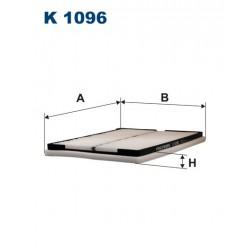 FILTR KABINY WT322026 ZAMIENNIK FILTRONA K 1096