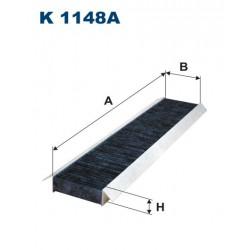 FILTR KABINY 338490 ZAMIENNIK FILTRONA K 1148A