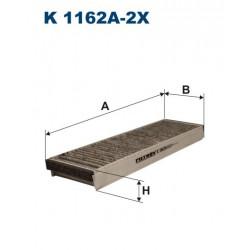 FILTR KABINY 338496 ZAMIENNIK FILTRONA K 1162A-2X