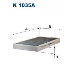 FILTR KABINY 338509 ZAMIENNIK FILTRONA K 1035A