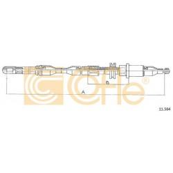 LINKA HAMULCA RĘCZNEGO CORSA 86- 1400 PRAWA COFLE 11.584