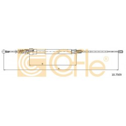 LINKA HAMULCA RECZNEGO A3,GOLF V /1450/810/ L PRAWA COFLE 10.7509