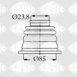 OSLONA PRZEGUBU WEWNETRZNA RENAULT CLIO I SASIC 4003419