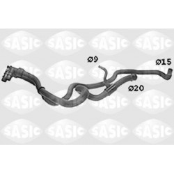 PRZEWOD CHLODNICY PEUGEOT 306 SASIC SWH0513