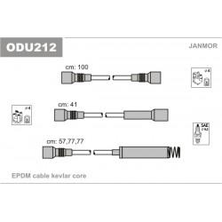 PRZEWODY ZAPLONOWE OMEGA 1.8-2.0 OHC 86- /EP/ JANMOR ODU212