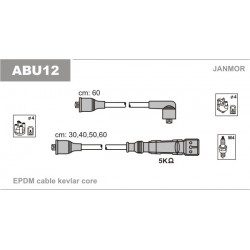 PRZEWODY ZAPLONOWE VW 1.6-2.0 85- /EP/ JANMOR ABU12