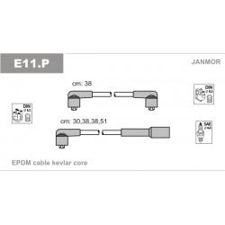 PRZEWODY ZAPLONOWE FAVORIT 4SZT /EC/ JANMOR E11.P