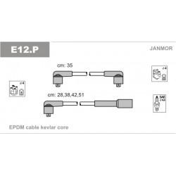 PRZEWODY ZAPLONOWE FELICIA 1.3 94- /EC/ JANMOR E12.P