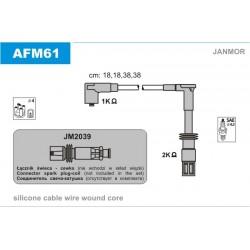 PRZEWODY ZAPLONOWE ALFA 145 16V 1.4 94- /SC/ JANMOR AFM61