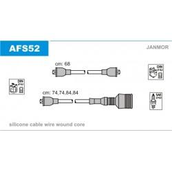 PRZEWODY ZAPLONOWE ALFA 33 1.2-1.5 87-94 /SI/ JANMOR AFS52