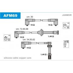 PRZEWODY ZAPLONOWE ALFA 164 V6 3.0 92- /SC/ JANMOR AFM69