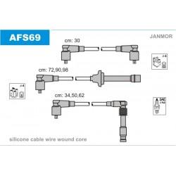 PRZEWODY ZAPLONOWE ALFA 164 V6 3.0 92- /SI/ JANMOR AFS69