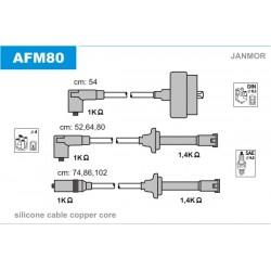 PRZEWODY ZAPLONOWE ALFA 164 3.0 87-93 /SC/ JANMOR AFM80