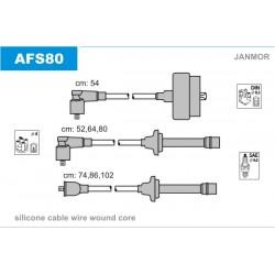 PRZEWODY ZAPLONOWE ALFA 164 3.0 87-93 /SI/ JANMOR AFS80