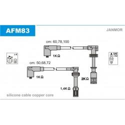 PRZEWODY ZAPLONOWE ALFA 166 2.0 V6 98- /SC/ JANMOR AFM83