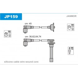 PRZEWODY ZAPLONOWE ACCORD 16V 2.0I 87- /SI/ JANMOR JP159
