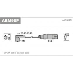 PRZEWODY ZAPLONOWE A3,GOLF IV,V 1.6 96- /SC/ JANMOR ABM90P