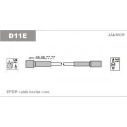 PRZEWODY ZAPLONOWE POLONEZ III 1.6 92- JANMOR D11E.P