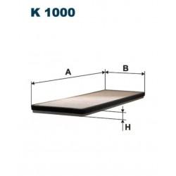 FILTR KABINOWY FILTRON K1000