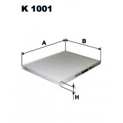 FILTR KABINOWY FILTRON K1001