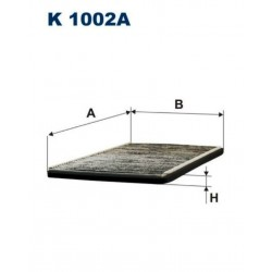 FILTR KABINOWY FILTRON K1002A