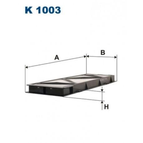 FILTR KABINOWY FILTRON K1003