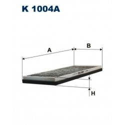 FILTR KABINOWY FILTRON K1004A