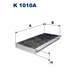 FILTR KABINOWY FILTRON K1010A