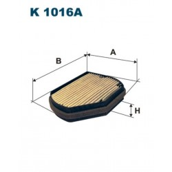 FILTR KABINOWY FILTRON K1016A