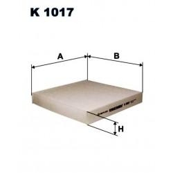 FILTR KABINOWY FILTRON K1017